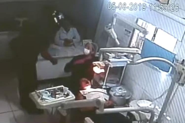 Dois homens armados fazem arrastão em clínica no centro de Teresina