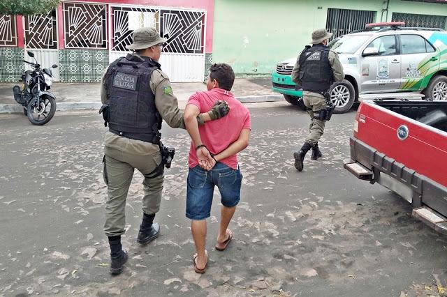 Homem é preso após esfaquear adolescente na zona rural de Cocal dos Alves