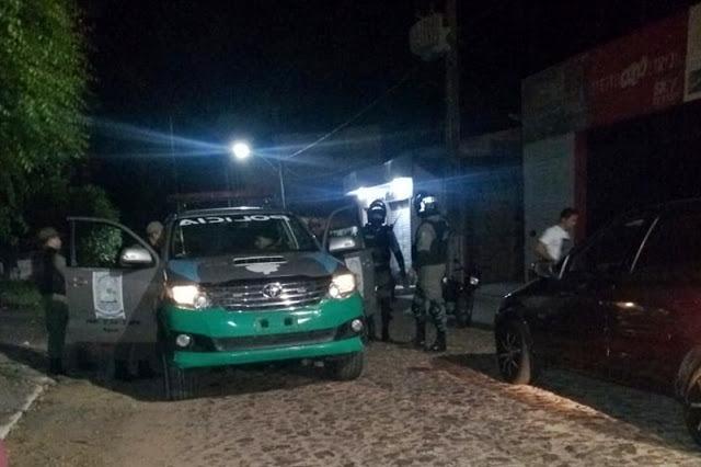 Homem é preso pela 4ª vez suspeito de furto à uma casa em Cocal