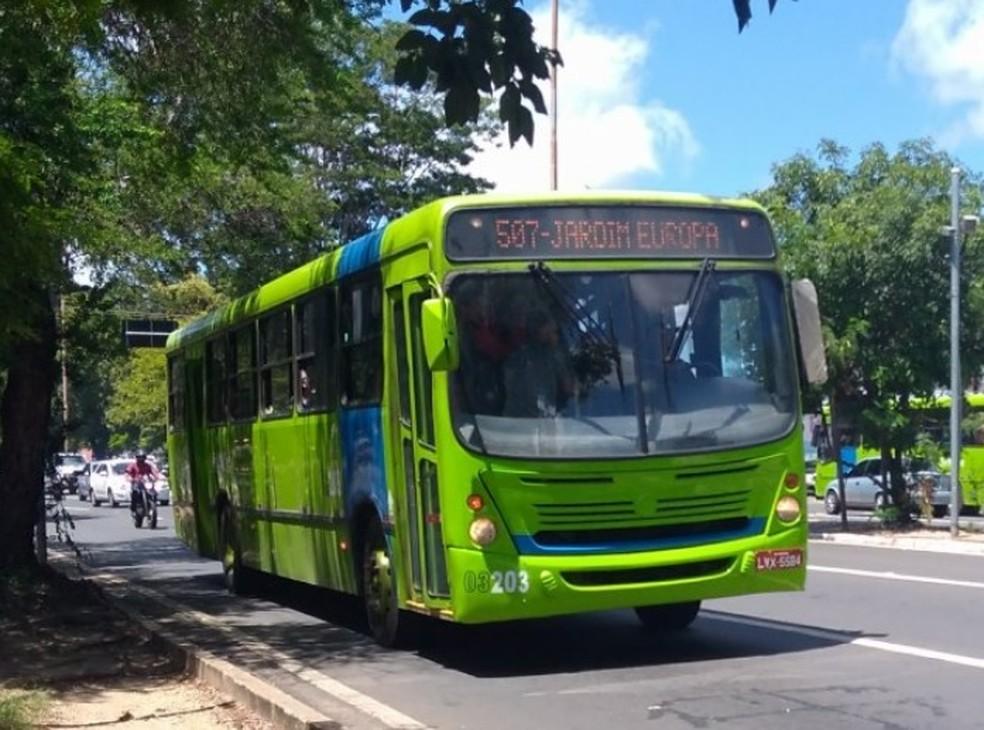Frota de ônibus de Teresina será reduzida no feriado desta sexta (16)