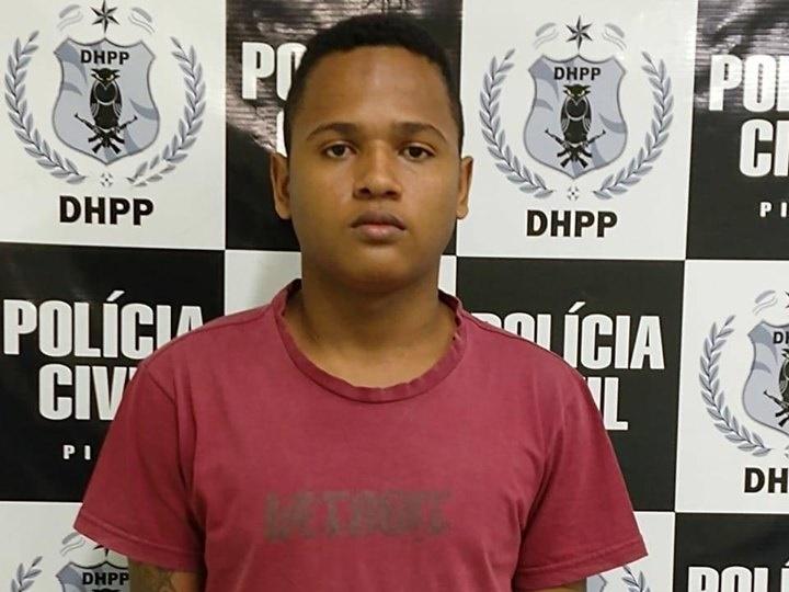 Suspeito de matar jogador de futebol é preso em Teresina