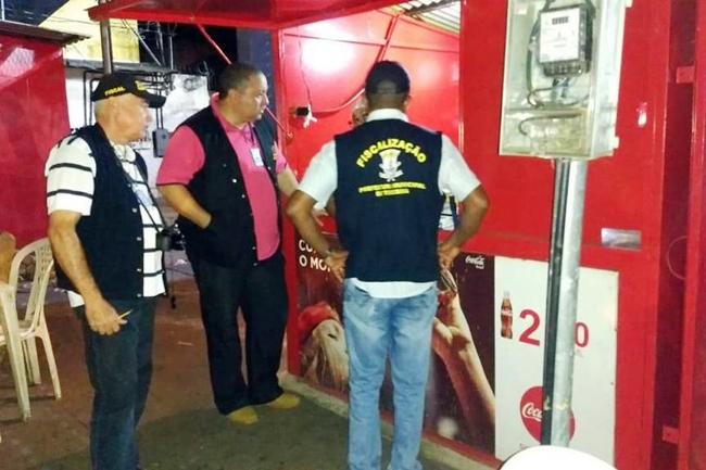 SDU fiscaliza trailers na zona sudeste de Teresina