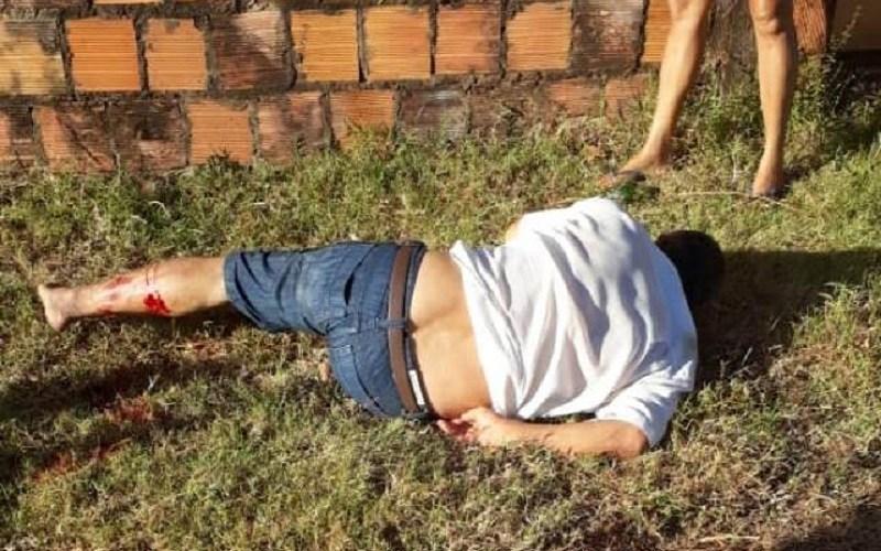 Lavrador fica ferido ao sofrer acidente de moto em José de Freitas