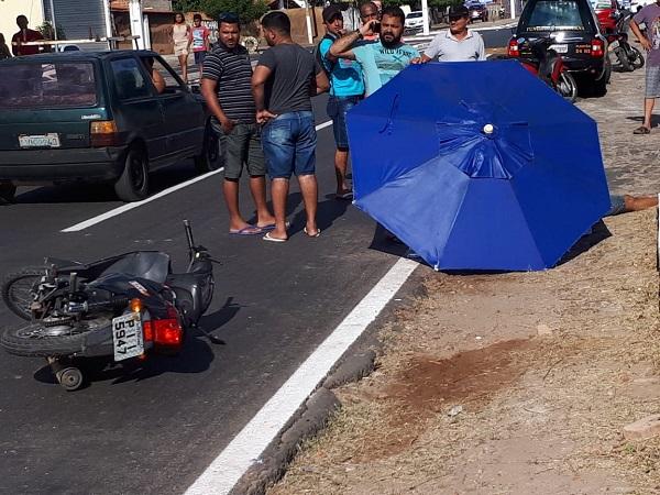Homem morre ao cair de motocicleta em anel viário no Piauí