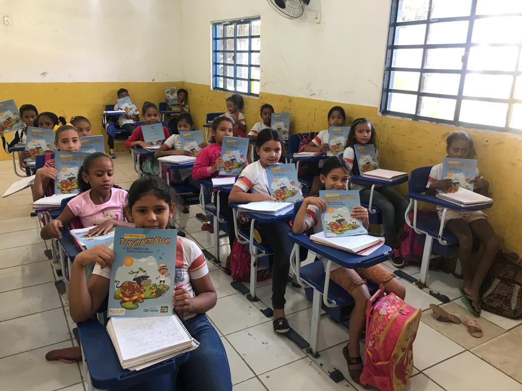 Programa Saúde Nota 10 promove educação ambiental para crianças de Timon