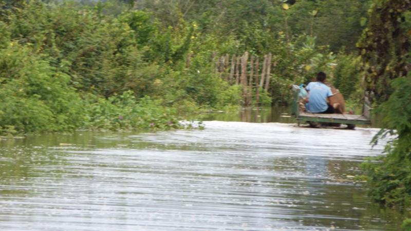 Rio Parnaíba 'sobe' e previsão é que haja inundações em 24 horas no Piauí