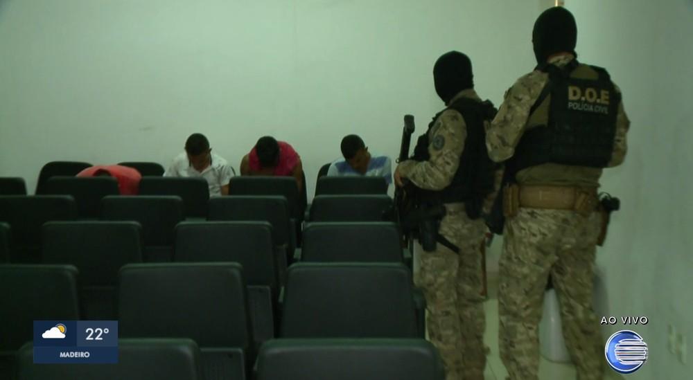 Operação Independência cumpre mandado de prisão em Teresina