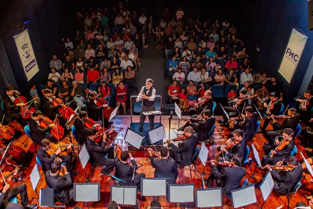 Projeto 'Sinfonia nos Bairros' da OST se apresenta domingo (8) no Mocambinho
