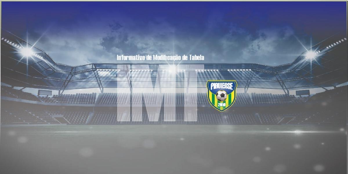 Jogos da 2° Rodada da Série B do Campeonato Piauiense sofrem alterações