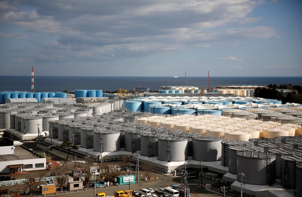 Japão terá que descartar água radioativa da usina nuclear de Fukushima no Pacífico, diz ministro