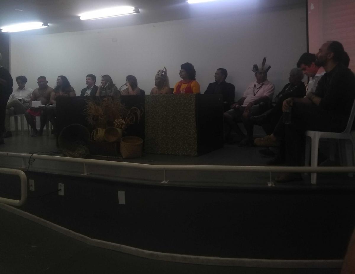 Indígenas Warao participam de seminário na UFPI