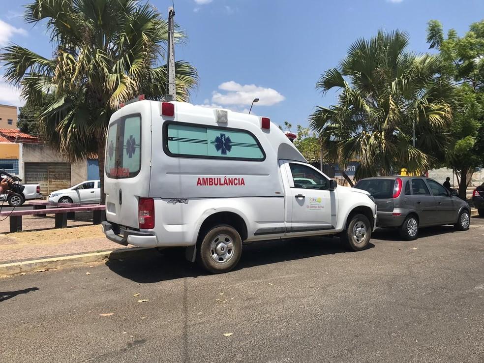 Ambulância de prefeitura é apreendida em Teresina