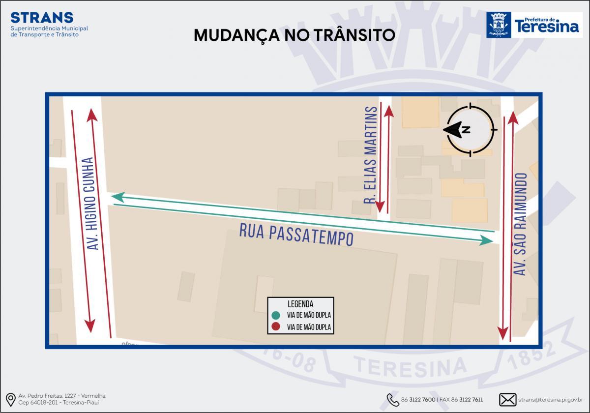 Rua Passatempo começa a ter sentido duplo nesta quarta-feira (11)