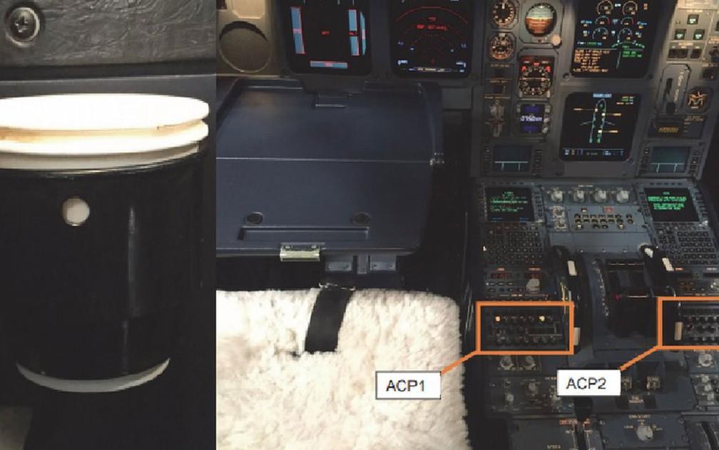Café derramado por piloto levou avião à pouso de emergência  na Irlanda, mostra relatório