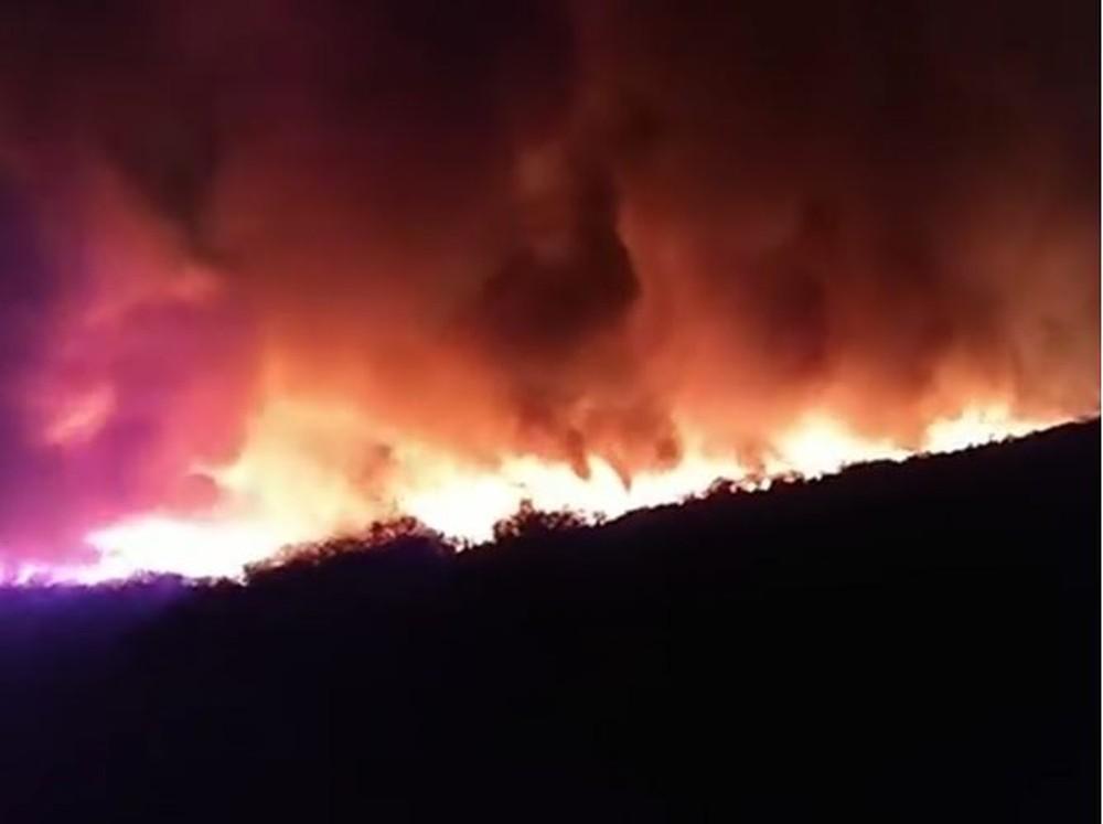 Incêndio atinge residências na divisa entre Piauí e Ceará