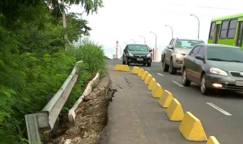 Equipe da prefeitura nega risco de queda da Ponte Wall Ferraz