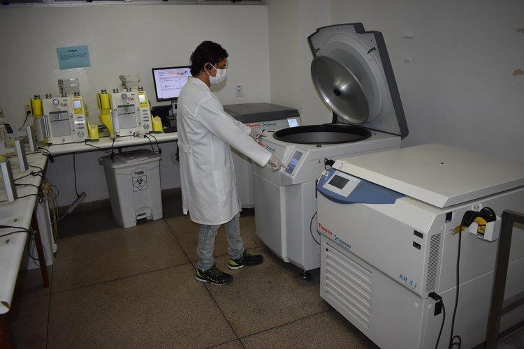 Hemopi adquire novos equipamentos em convênio firmado entre o Ministério da Saúde e a Sesapi