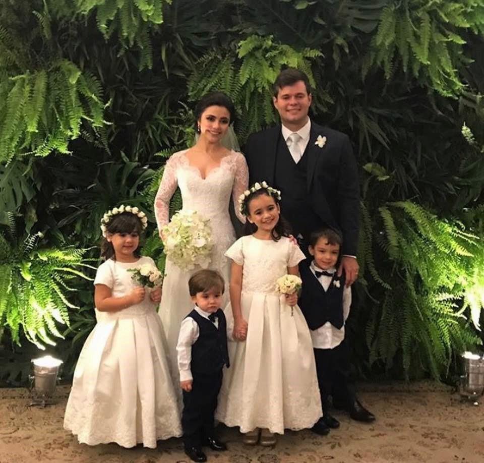 A Força da Notícia: Casamento da Doutora Maria Theresa Rebelo e Guilherme Sortino