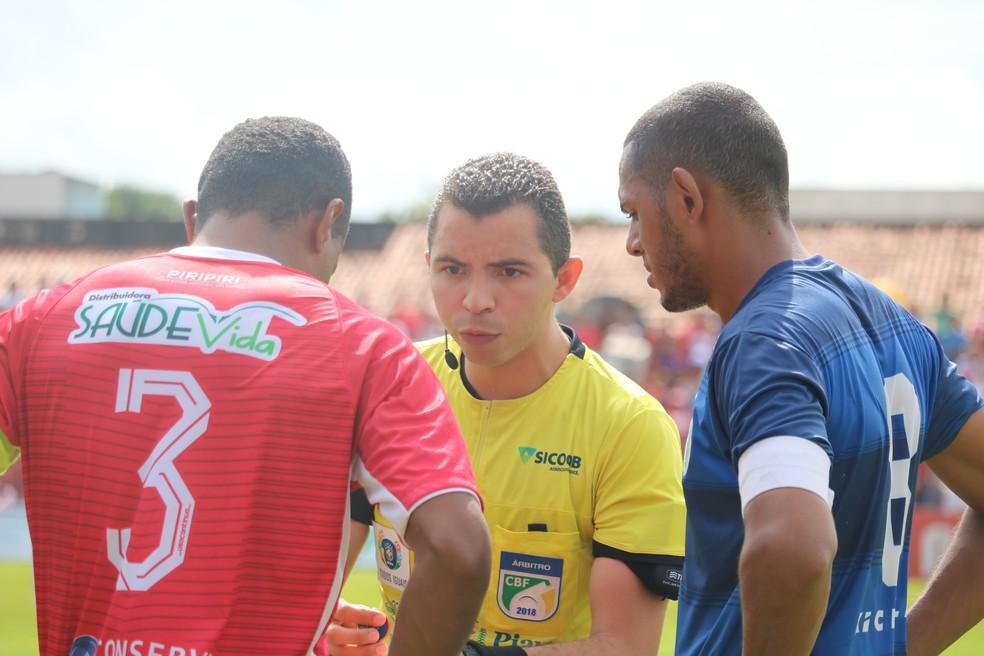 Federação de Futebol do Piauí divulga arbitragem para os jogos da 4° rodada da série B Campeonato Piauiense