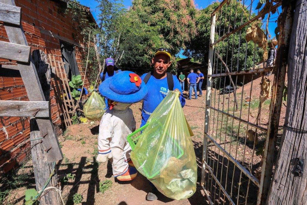 SDU recolhe em agosto 2,6 mil toneladas de lixos em pontos irregulares em Teresina