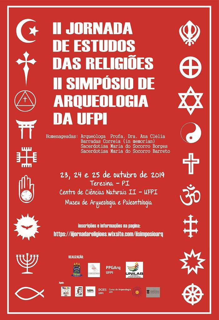 UFPI promoverá a II Jornada de Estudos das Religiões e II Simpósio de Arqueologia