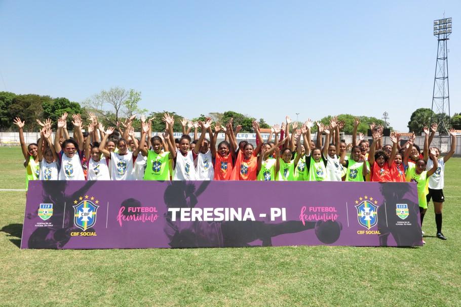 CBF Social debate futebol feminino em Teresina