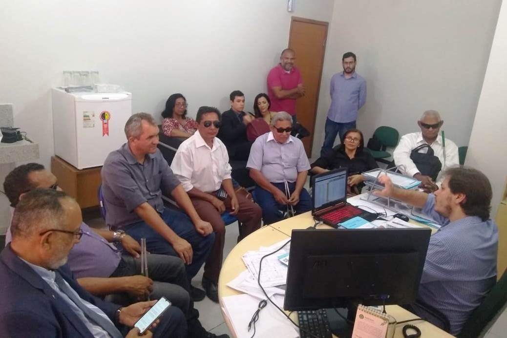 Deficientes visuais serão contemplados com nova sinalização de trânsito em Teresina