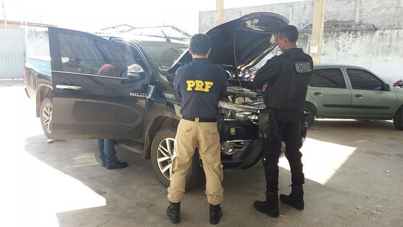 Carro de advogado é apreendido pela PRF com placa clonada em Teresina