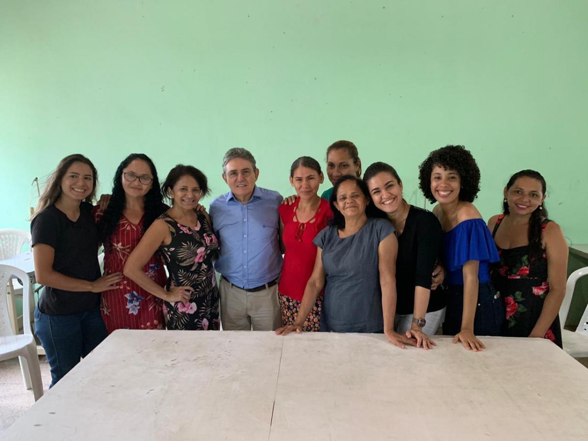 Projeto Vitória, da FWF e SEMEST, e beneficiam cerca de 200 mulheres em Teresina