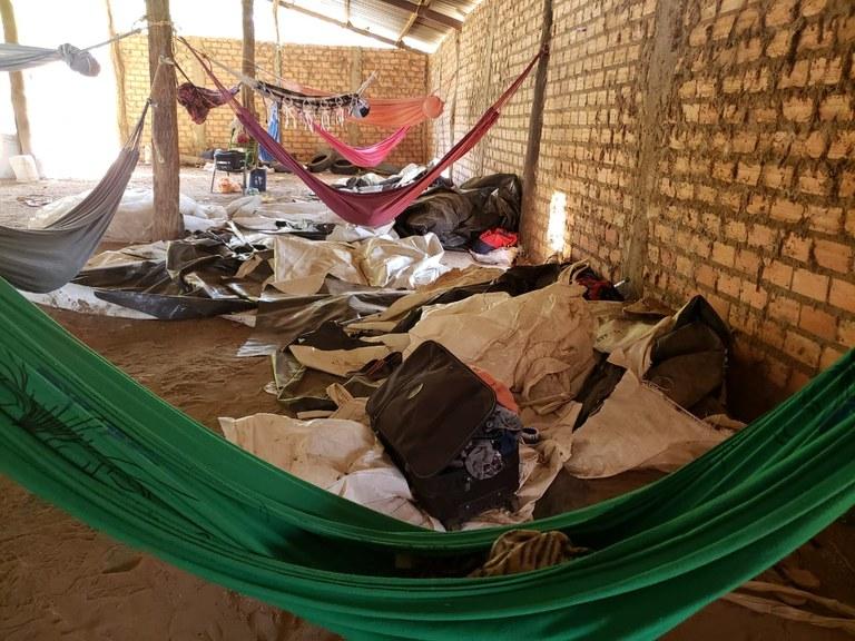 Quase 50 trabalhadores em situação análoga à de escravo foram resgatados no Sul do Piauí