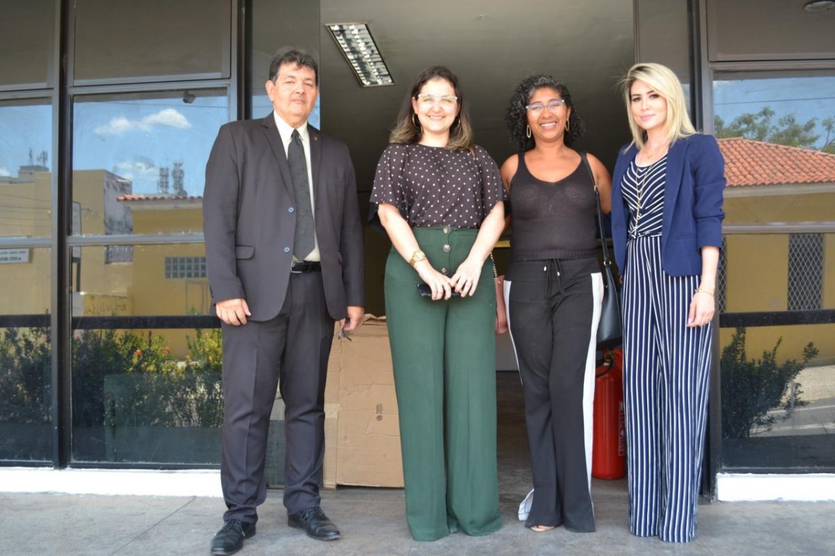 InTHEgra Mulher: Representantes visitam espaço pleiteado para construção da primeira etapa do projeto