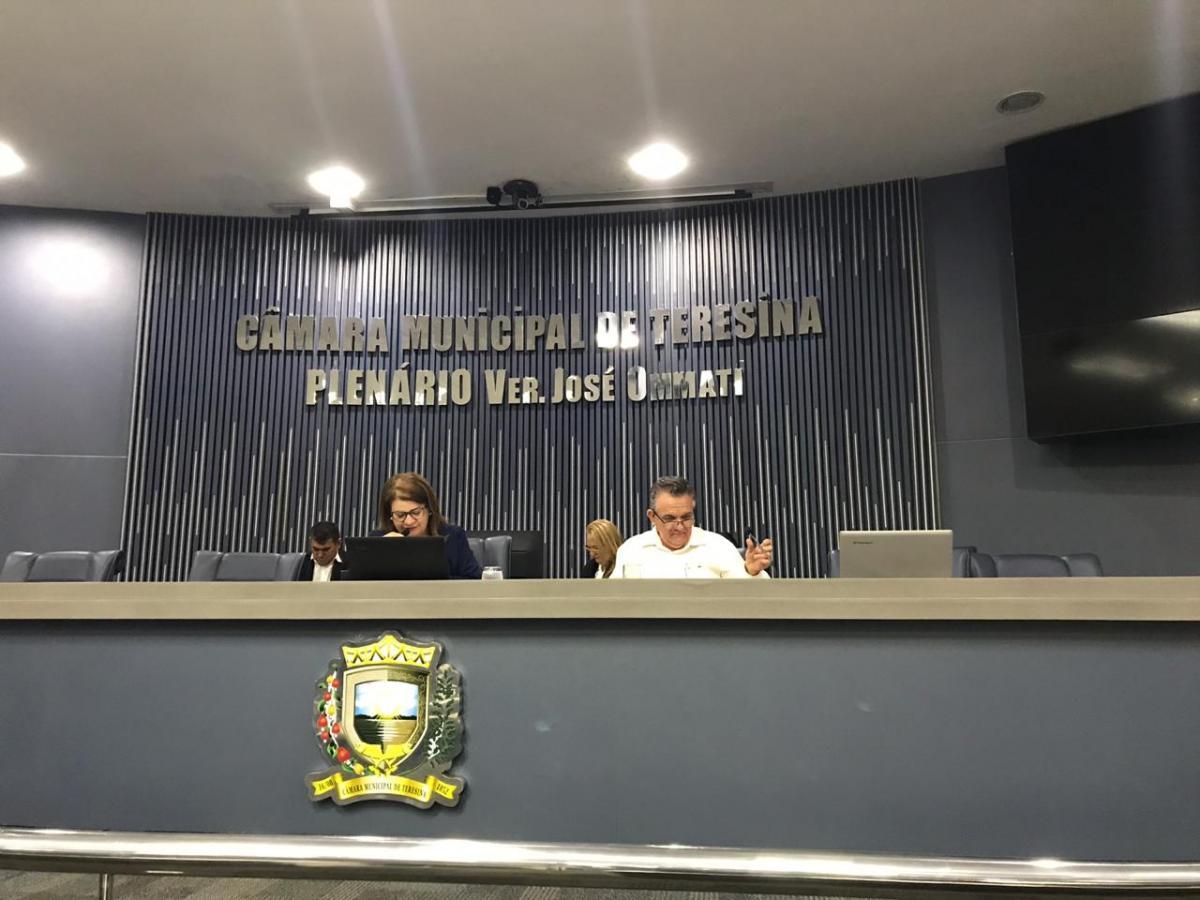 Câmara Municipal de Teresina discutirá o Projeto de Lei Orçamentária para 2020