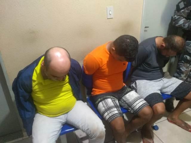 Três homens armados que tentariam assaltar um supermercado foram presos em Picos