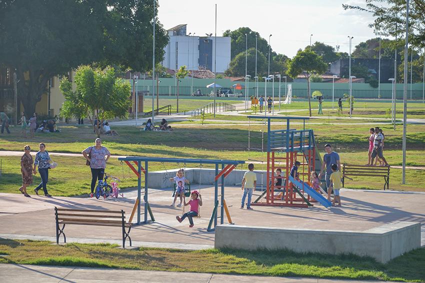 Teresina Saudável promove a prática de atividades físicas no Parque da Cidadania