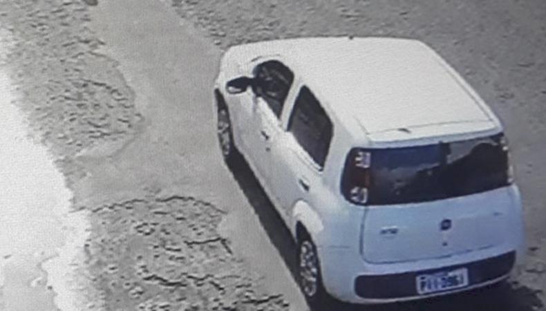 Carro utilizado no assalto aos Correios de Água Branca é encontrado pela Polícia