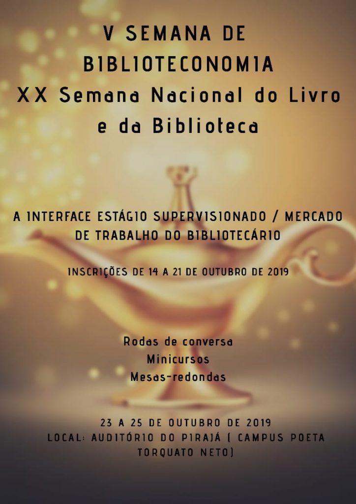 UESPI promove a XX Semana Nacional do Livro e V Semana de Biblioteconomia
