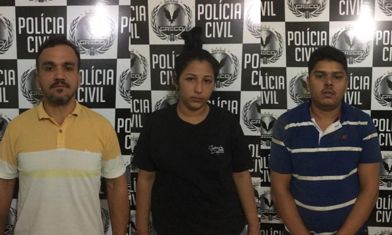 Polícia Civil prende quadrilha especializada em roubo a banco no Piauí