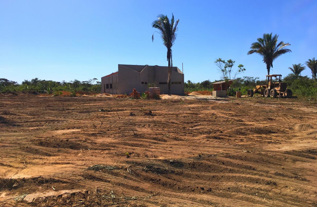 Novo cemitério está sendo construído no bairro Jacinta Andrade, zona norte de Teresina