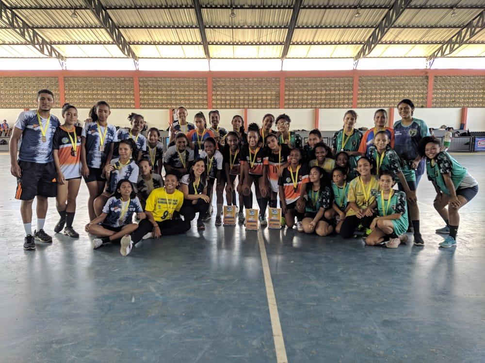 Equipes de Handebol disputam final dos jogos na AABB