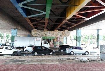 Trecho sob a 'Ponte da Frei Serafim' é interditado em Tersina