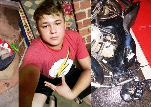 Jovem morre ao colidir moto em traseira de caminhão no Norte do Piauí