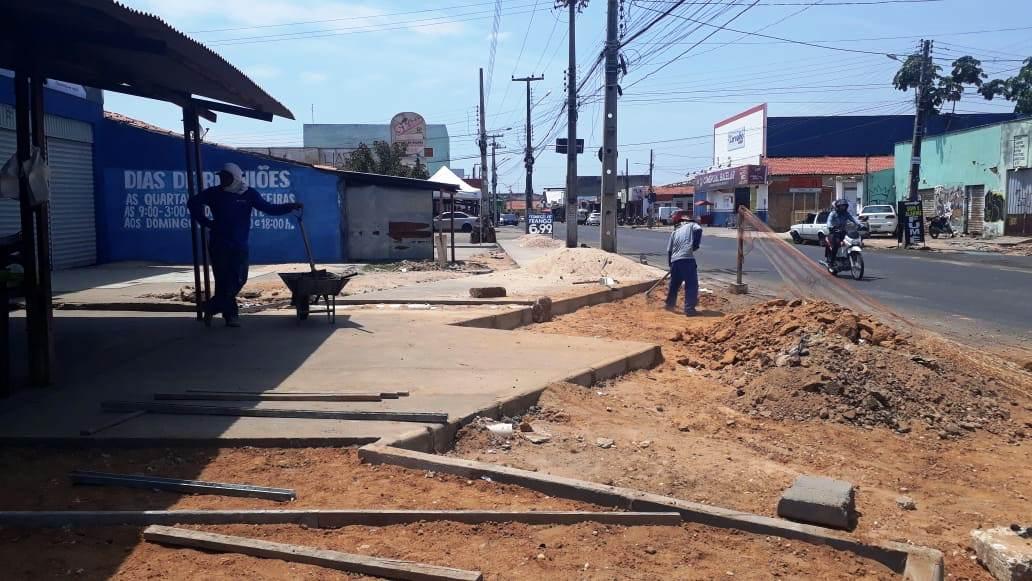 Corredor de ônibus contará com 22 vagas de estacionamento de veículos na Rui Barbosa