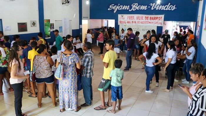 Dia de Cidadania foi realizado ontem (31) pelo MP-PI em Barras