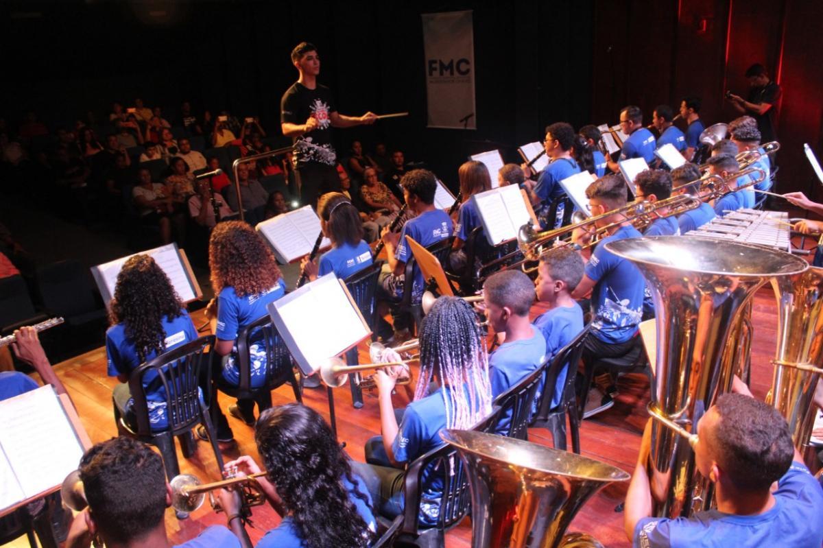 Festival de Bandas de Teresina acontece até sexta-feira (8) no Palácio da Música