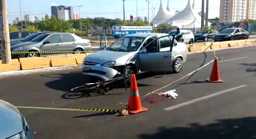 Ciclista é suspeito de atirar em motorista e fugir durante briga de trânsito