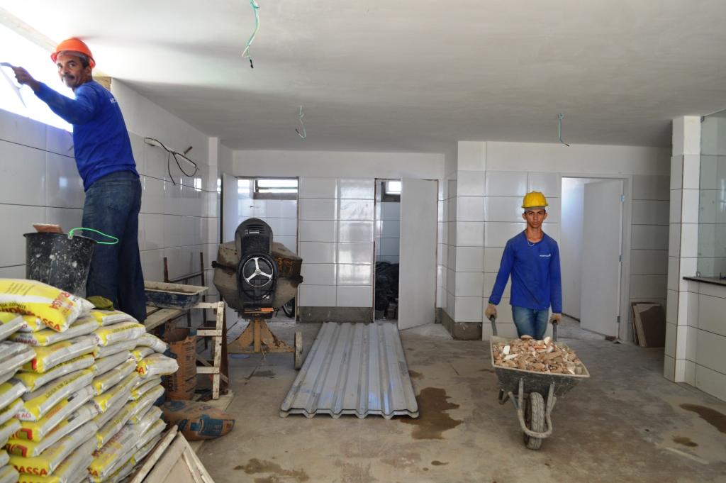 Obra do Hospital do Dirceu é previsto para concluir em dezembro deste ano