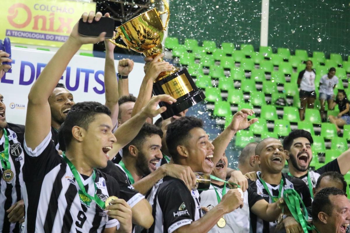 Ceará vence JES na prorrogação e leva o título da Copa Nordeste de Futsal