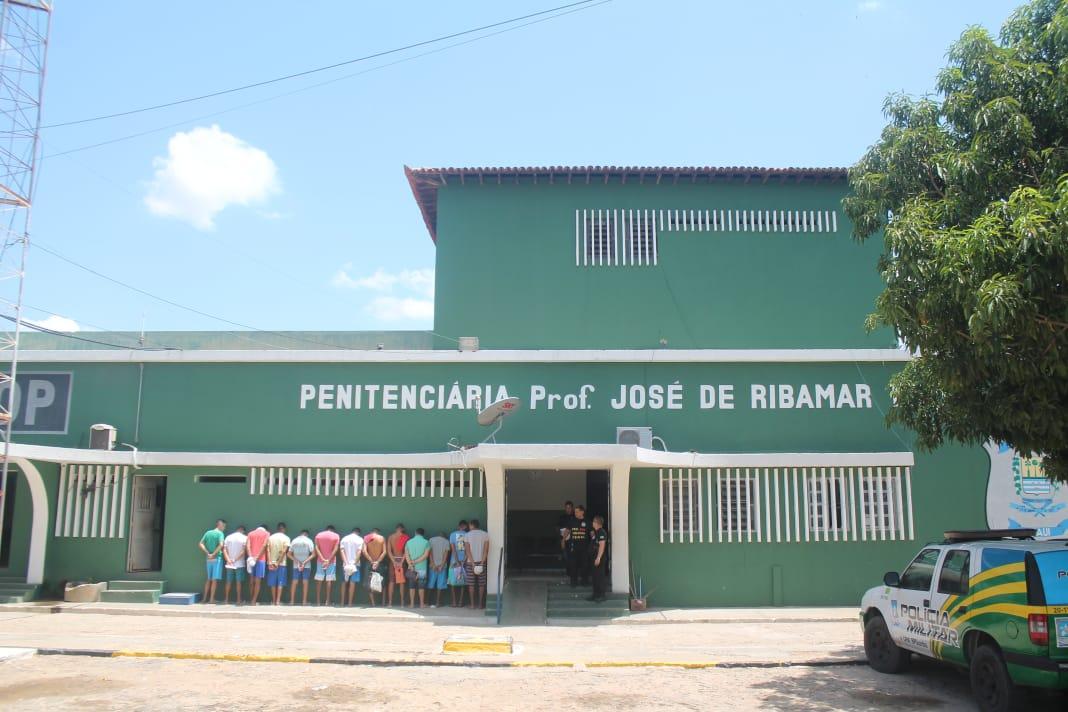 Sejus deflagrou operação em três pavilhões na penitenciária em Teresina na última sexta-feira (8)