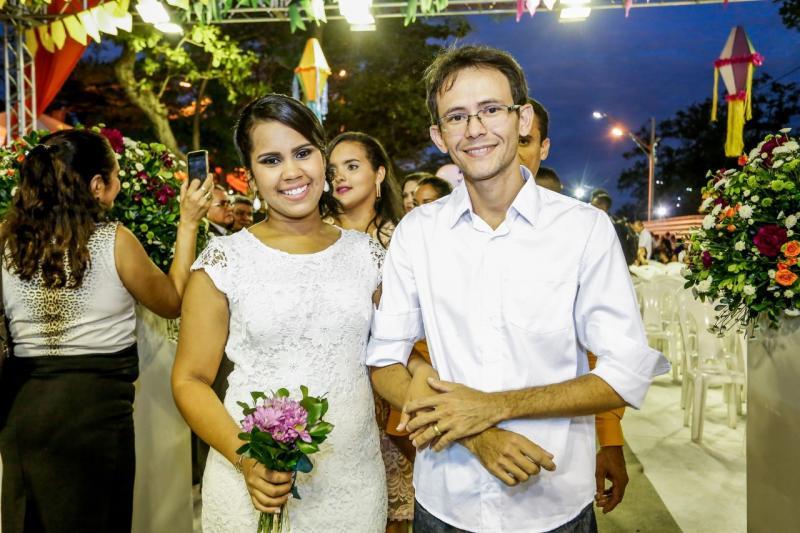 Abertas as inscrições para casamento coletivo no Cidade Junina