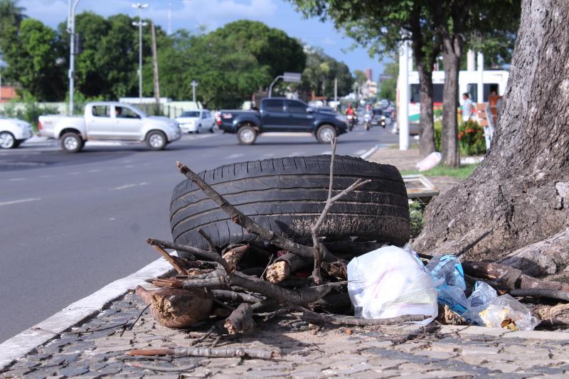 Triplicam o número de infrações por lixo em Teresina